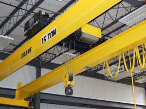 Jasa Pembuatan Overhead Hoist Crane Double Girder Indonesia