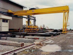 Jasa Pembuatan Overhead Hoist Crane Gantry Crane Double Girder Indonesia
