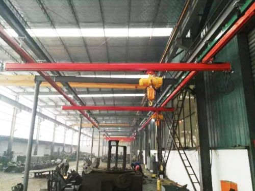 Jasa pembuatan mini overhead hoist crane di Indonesia