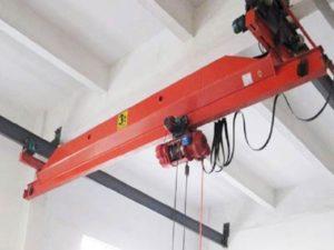 Jasa Pembuatan Overhead Hoist Crane Kecil di Indonesia