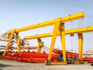 Jasa Pembuatan Overhead Hoist Crane Gantry Crane Single Girder Indonesia