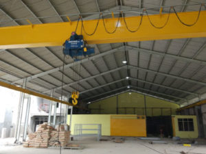 Jasa Pembuatan Overhead Hoist Crane Single Girder di Indonesia